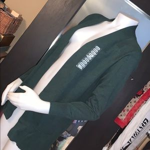 Kersh cardigan sweater sz medium  open front NWT